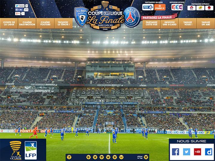 2015 coupe de la ligue la finale blakeway gigapixel - Coupe de la ligue finale 2015 ...