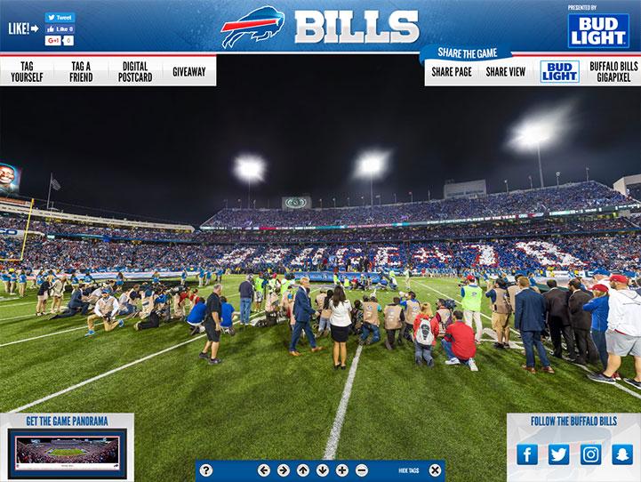Buffalo Bills Card Stunt