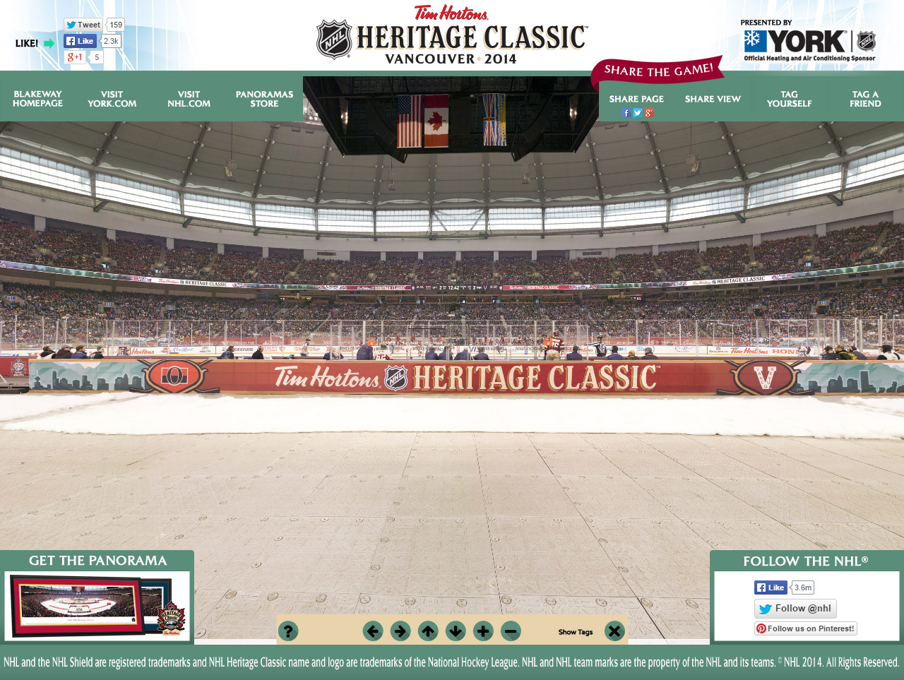 2014 NHL Heritage Classic