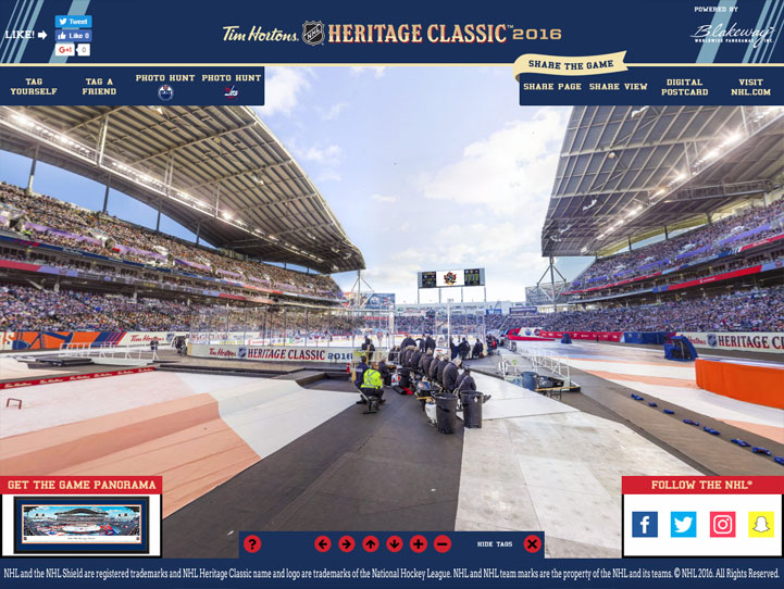2016 NHL Heritage Classic