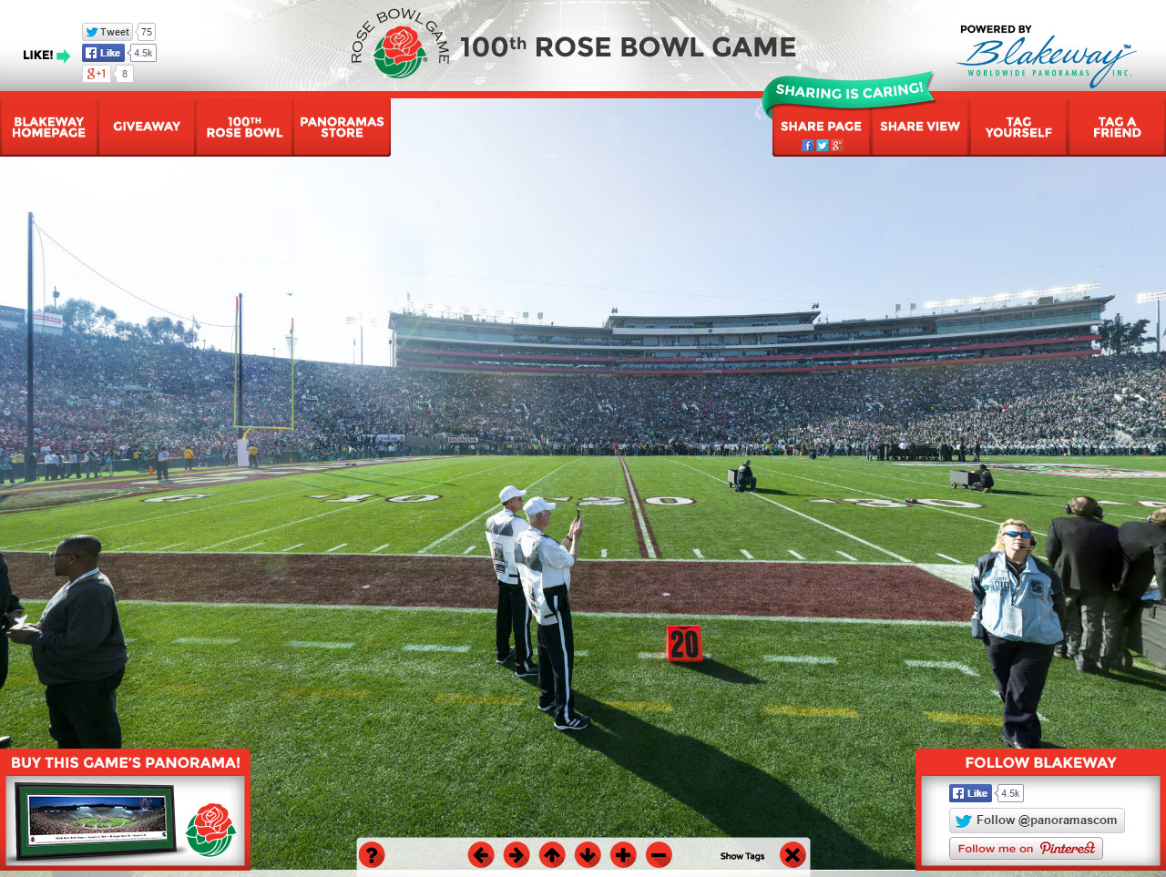 100th Rose Bowl Game