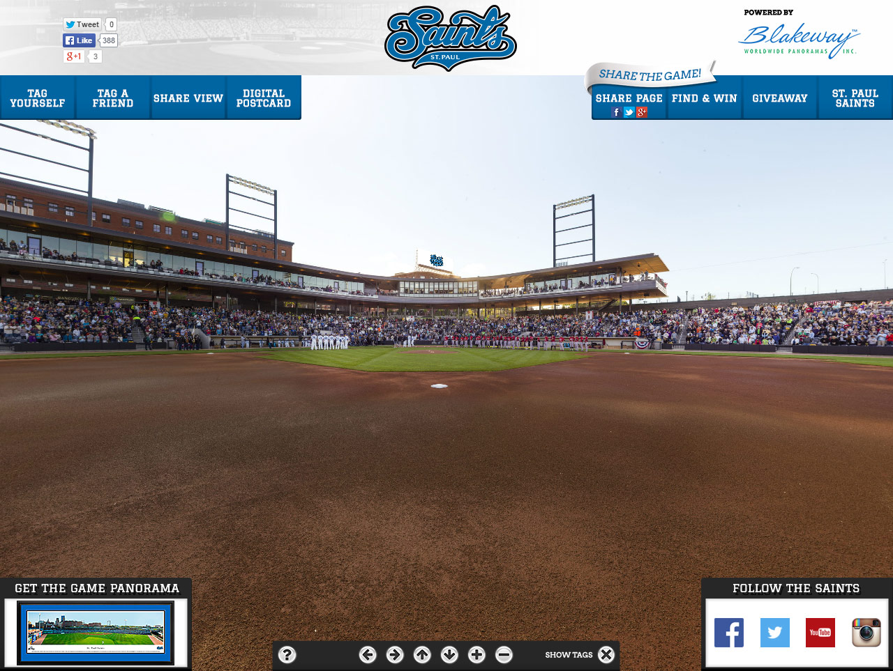 St. Paul Saints Gigapixel