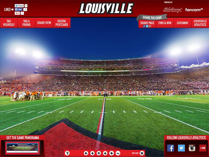 Louisville Cardinals Gigapixel